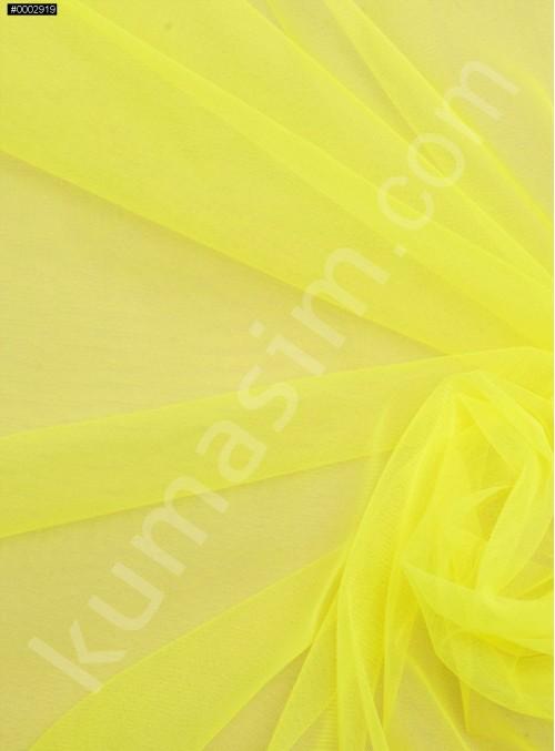 Sarı Hayal Tül Kumaş C34 - S0060
