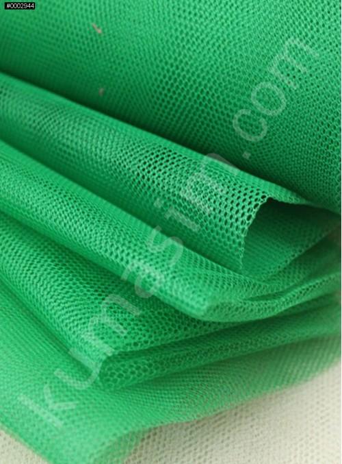 Süslemelik ve Elbiselik Yeşil Grek Tül Kumaş C9 - S0061