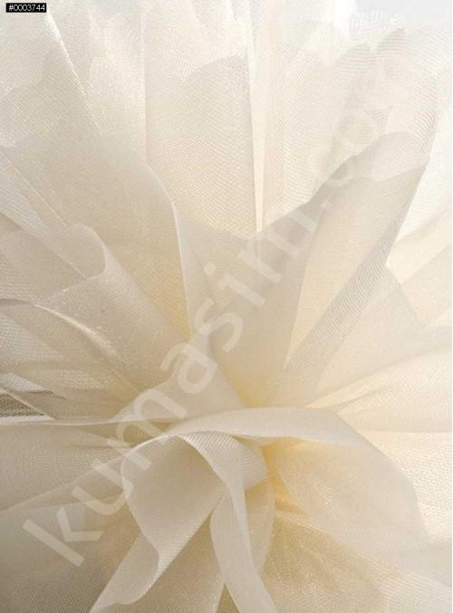 Kemik Kristal Tül Kumaş c2 - S0098