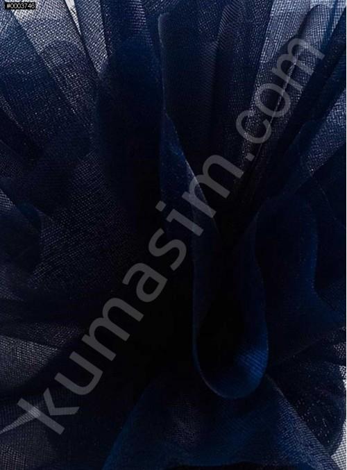 Lacivert Kristal Tül Kumaş c23 - S0098
