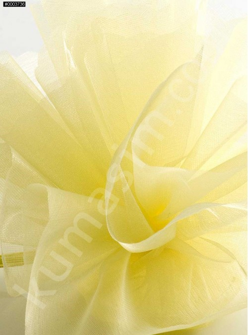 Sarı Kristal Tül Kumaş c45 - S0098