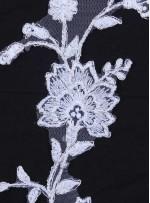 Gelinlik ve Nişanlık Zarif Desenli Kemik Aplike - K11953
