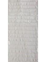 Kemik Büyük Dikdörtgen Payetli Kumaş - K201