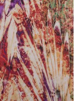 Karışık Desenli Rengarenk Empirme Şifon Kumaş - K296