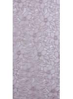 Çiçek Desenli Pudra Organze Kumaş - K3010