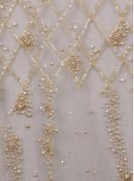 Gold Rengi Zarif Nişanlık Payetli - Boncuklu - Kupon Elbise - A30473