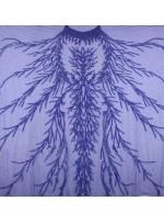 Dağınık Desenli Swarovski Taşlı - Payetli ve Boncuklu Parlement Kupon Elbise - A30494