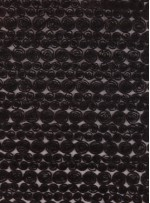 Tül Üzeri Lase Kumaş - Siyah- K3081
