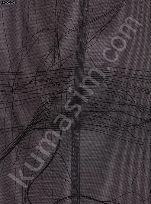 Şifon Üzeri İpli Kumaş - K3116