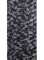 İnce Siyah Dantel Üzeri Payetli Kumaş - K3122
