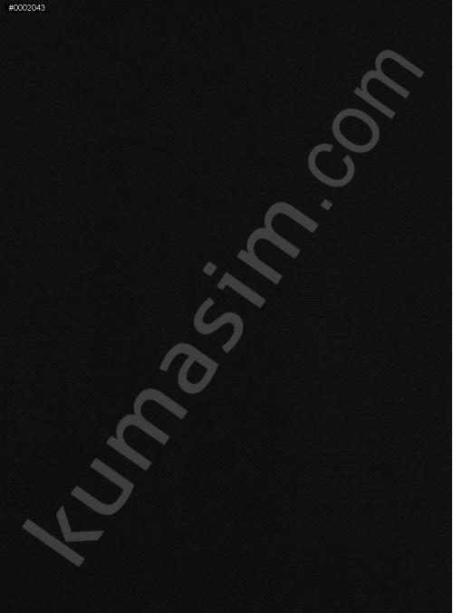 Desensiz Siyah Örme Kumaş - K3181