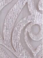 Lazer Kesim Saten Üzeri Karışık Desenli Payetli Varaklı Vizon Kumaş - K3228