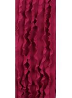Fırfır Desenli Örme Fuşya Kumaş - K3240