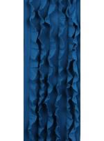 Fırfır Desenli Örme Petrol Kumaş - K3240