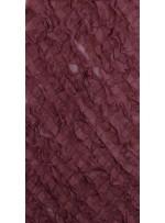 Gül Rengi Verev Desenli Saten ve Saçaklı Tül Kumaş - K3255