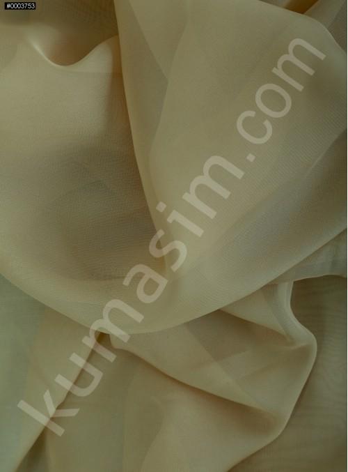 Elbiselik Gold Polyester İpeksi Şifon Kumaş - K3339