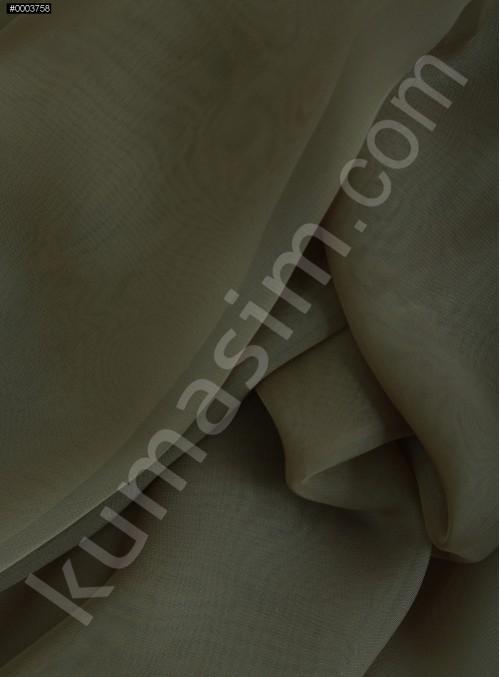Elbiselik Toprak Polyester İpeksi Şifon Kumaş - K3339