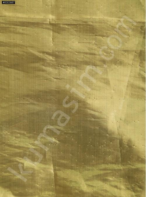 Elbiselik Teneke Gold Parlak Lame Kumaş - K3408