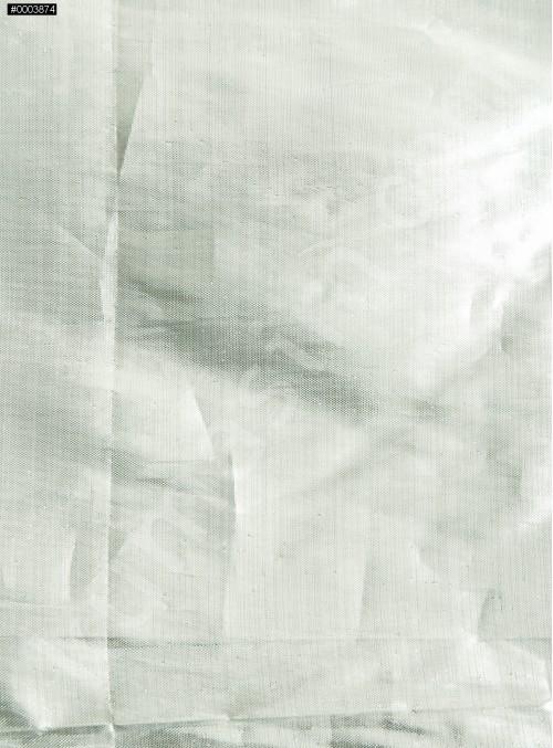 Elbiselik Teneke Gümüş Parlak Lame Kumaş - K3408