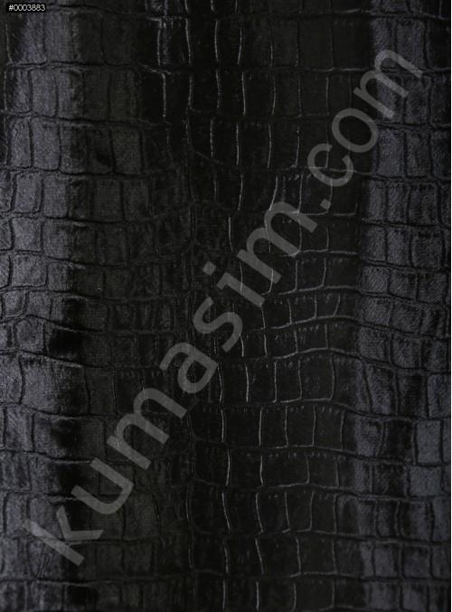 Deri Desenli Ceketlik ve Kabanlık Astragan Kürk Kumaş - K3422