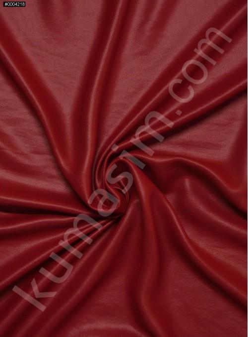 Abiye Elbiselik Kırmızı Laklı Şifon Kumaş - K3434