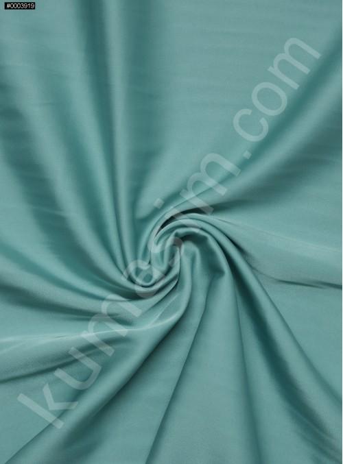 Elbiselik İpeksi Mint Likra Saten Kumaş - 3437