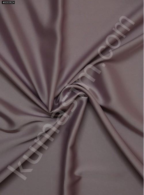 Elbiselik İpeksi Leylak Likra Saten Kumaş - 3437
