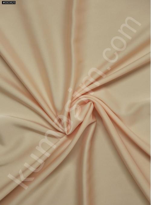 Elbiselik İpeksi Somon Likra Saten Kumaş - 3437