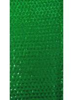 3mm Yoğun Yeşil Payetli Abiye Elbiselik Kumaş - K3560