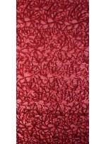 Abiye Elbiselik Kırmızı Tül Üzeri Kırmızı Payetli Kumaş - K3562