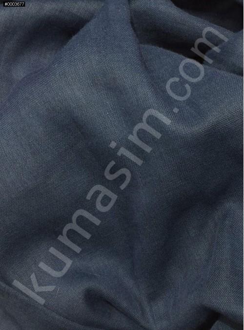 Astarlık Açık Lacivert %100 Pamuk Vual Kumaş - K3583