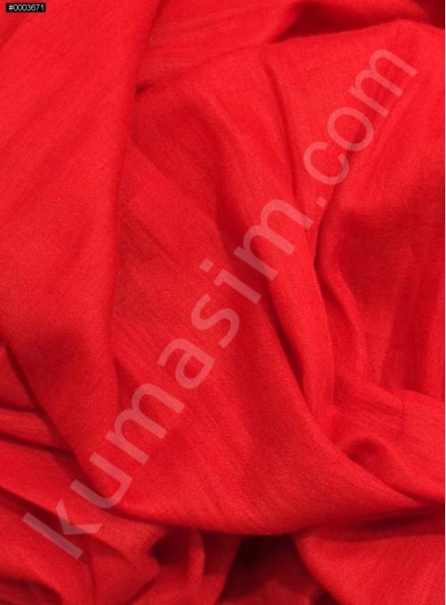Astarlık Kırmızı %100 Pamuk Vual Kumaş - K3583