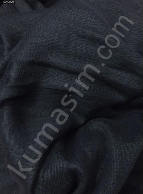 Astarlık Koyu Lacivert %100 Pamuk Vual Kumaş - K3583