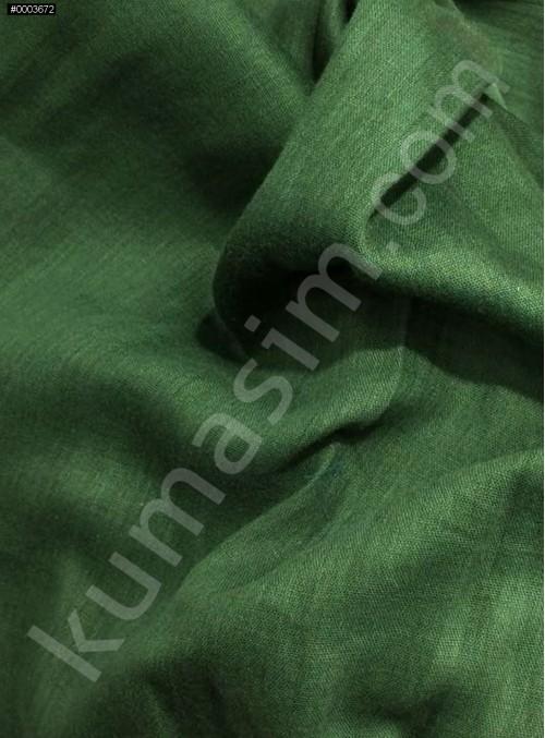 Astarlık Ördek Başı Yeşil %100 Pamuk Vual Kumaş - K3583