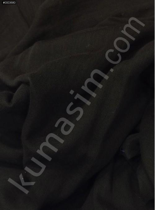Astarlık Siyah %100 Pamuk Vual Kumaş - K3583