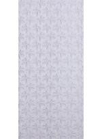 Çiçek Desenli Kemik Güpür Kumaş - K4076