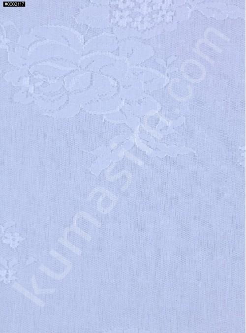 Çiçek Desenli İnce Kemik Fransız Danteli - K5033