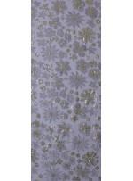 Çiçek Desenli Gold Payetli Abiyelik Kumaş - K5159