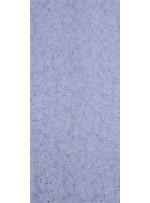 Damar Desenli Kordoneli ve Gümüş Payetli Kumaş - K5163