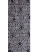 File Üzeri Örümcek Desenli Siyah Boncuklu Kumaş - K5461
