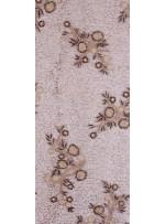 Eteği Sulu Boncuk ve Payetli Nakışlı Bakır Elbiselik Kumaş - K5490