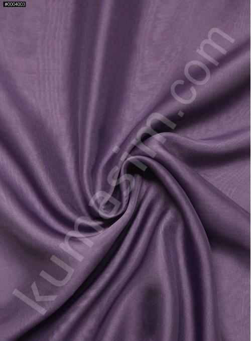 Elbiselik %100 İpek Açık Mor Şifon Kumaş - 120 - K6000