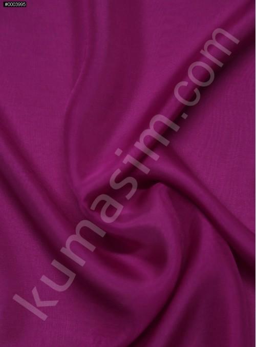 Elbiselik %100 İpek Fuşya Şifon Kumaş - 109 - K6000