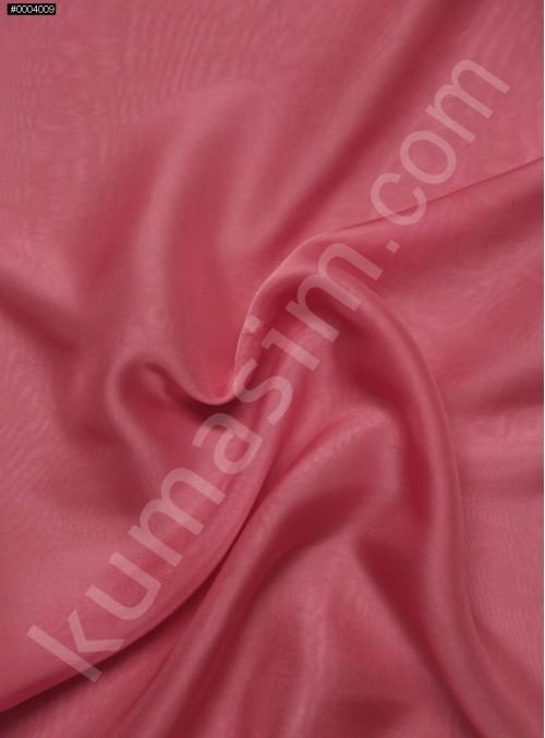Elbiselik %100 İpek Mercan Şifon Kumaş - 128 - K6000