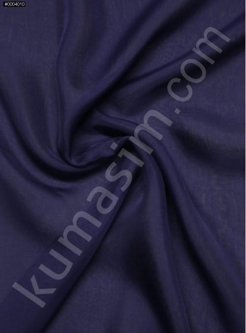 Elbiselik %100 İpek Mor Şifon Kumaş - 133 - K6000