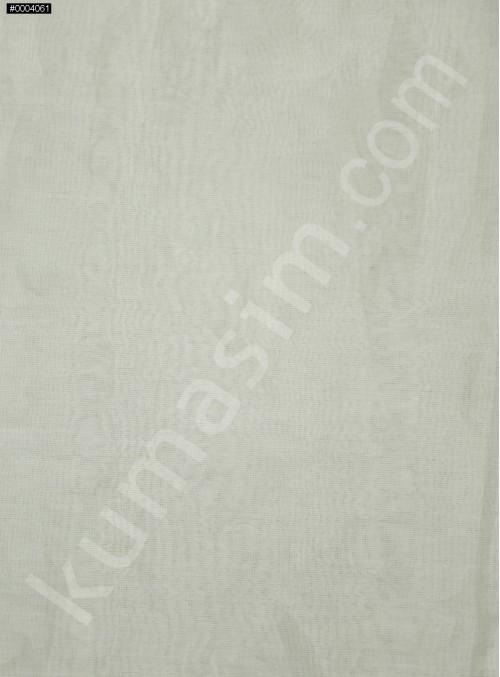 Ekru İpek Organze Kumaş - 102 - K6001