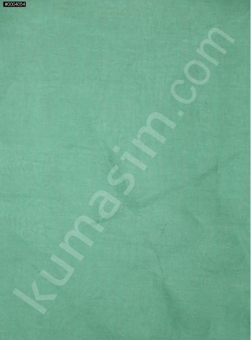 Koyu Mint İpek Organze Kumaş - 113 - K6001