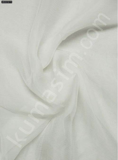 Elbiselik Ekru İpek Yoryo Şifon Kumaş - 102 - K6002