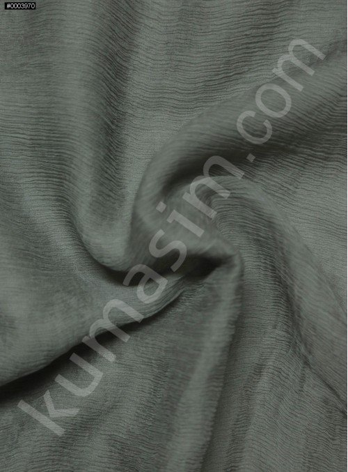 Elbiselik Gri İpek Yoryo Şifon Kumaş - 116 - K6002
