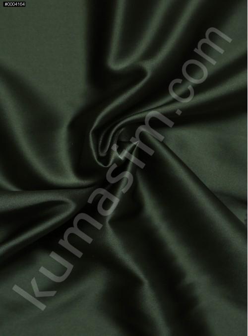 Elbiselik Haki %95 İpek - %5 Likra Saten Kumaş - 132 - K6007